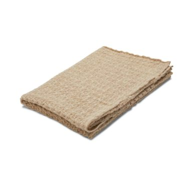 Konges Slojd wollen deken beige
