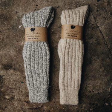 Lange wollen sokken